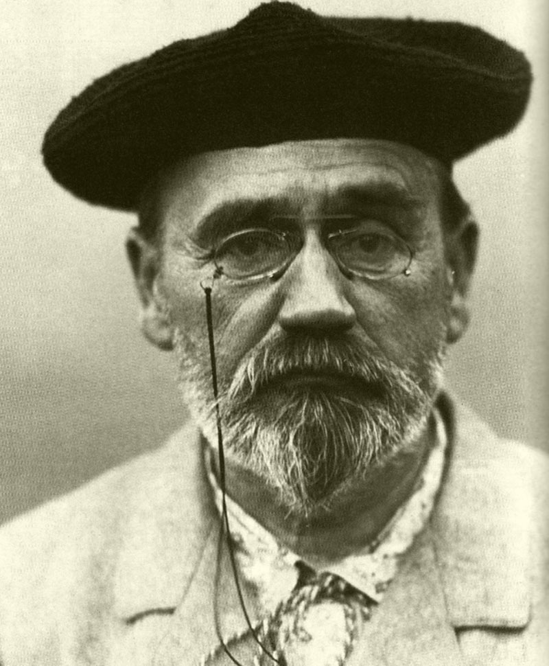 �mile Zola - Portrait